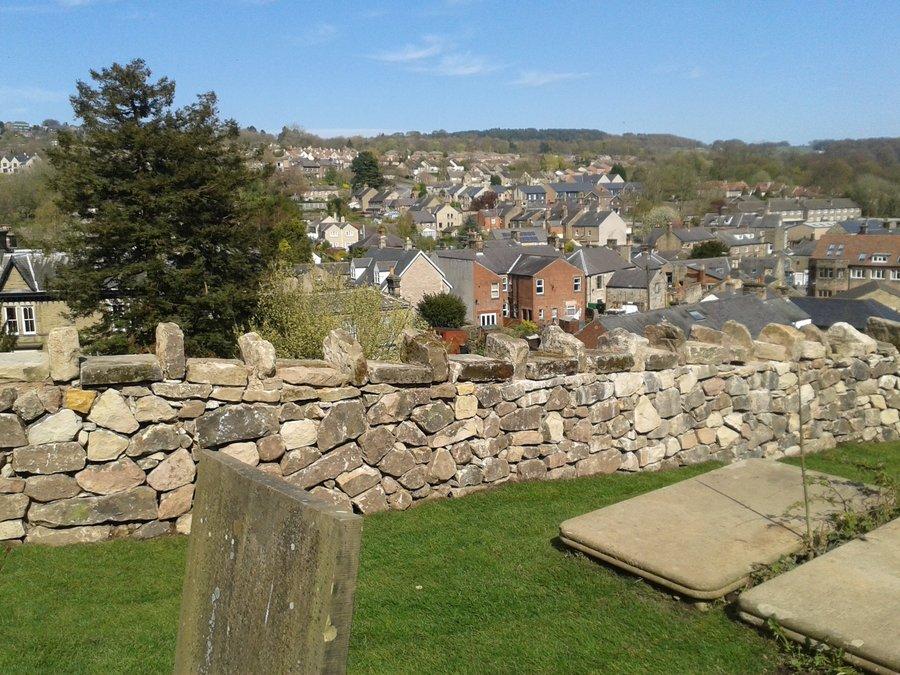 Civil Engineering Churches : St giles church retaining wall matlock danaher walsh
