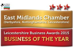 East Midlands Chamber > Leicestershire Business of the Year 2015