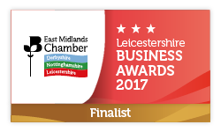 Danaher & Walsh Group - Finalist in the East Midlands Chamber Business Awards.