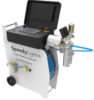 The SpeedyLight+ UV LED curing system