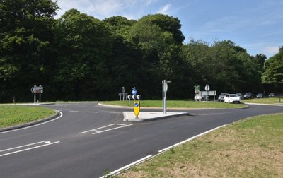 Highway works completed by Danaher & Walsh Civil Engineering in Norfolk.